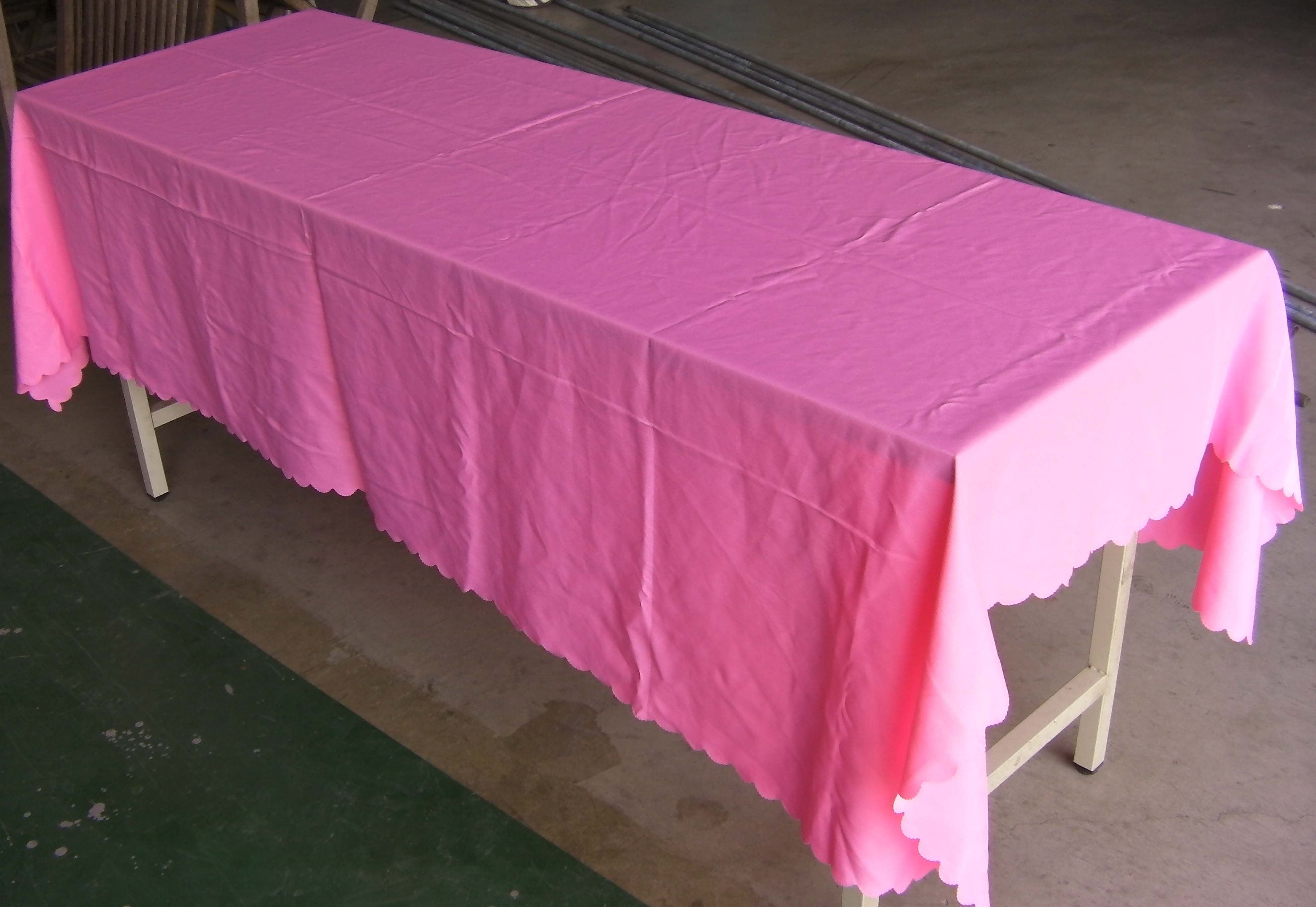 桌巾-粉紅